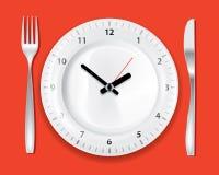 Tempo di pranzo Immagini Stock