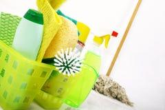 Tempo di pulire Fotografia Stock