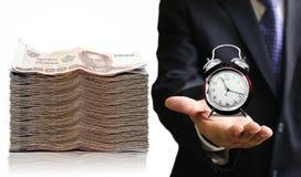 Tempo di risparmiare i vostri soldi Immagini Stock Libere da Diritti