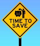 Tempo di salvare Fotografia Stock
