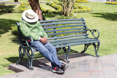 Tempo di siesta Immagine Stock