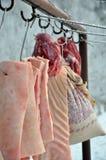 Tempo di uccisione del maiale Fotografia Stock Libera da Diritti