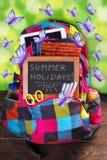 Tempo di vacanze estive Fotografie Stock
