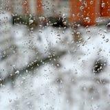 Tempo difettoso di inverno Fotografia Stock