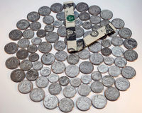Tempo = dinheiro Fotos de Stock Royalty Free
