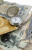 Tempo é dinheiro, conceito Fotos de Stock Royalty Free