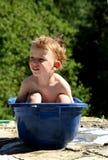 Tempo do banho Imagens de Stock Royalty Free