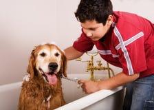 Tempo do banho Foto de Stock Royalty Free