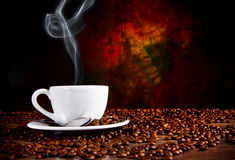 Tempo do café Imagem de Stock Royalty Free