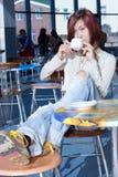 Tempo do café. Fotografia de Stock