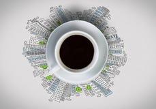 Tempo do café Fotos de Stock
