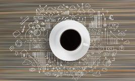 Tempo do café Imagens de Stock Royalty Free