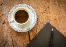 Tempo do café em casa Fotos de Stock