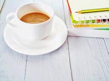 Tempo do café no feriado foto de stock royalty free