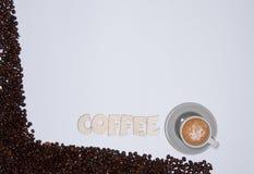 Tempo do café Foto de Stock Royalty Free