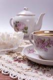 Tempo do chá Imagens de Stock Royalty Free
