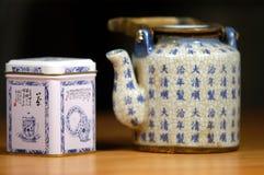 Tempo do chá Fotografia de Stock Royalty Free