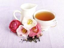 Tempo do chá, B&B Foto de Stock Royalty Free