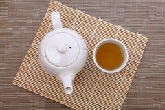 Tempo do chá de tarde Imagem de Stock Royalty Free