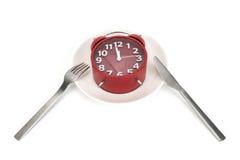 Tempo do chá do tempo do almoço Fotos de Stock