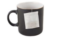 Tempo do chá no escritório fotografia de stock royalty free