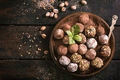 Tempo do chocolate doce fotos de stock royalty free