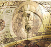 Tempo do dinheiro Fotografia de Stock Royalty Free