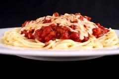 Tempo do espaguete imagem de stock