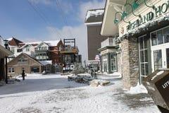 Tempo do esqui Fotos de Stock Royalty Free