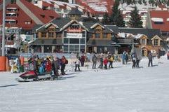 Tempo do esqui imagens de stock