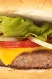 Tempo do hamburguer Imagens de Stock