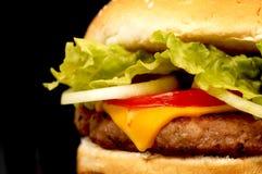 Tempo do hamburguer Imagem de Stock