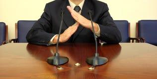 Tempo do homem de negócio para fora Fotografia de Stock Royalty Free