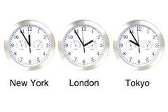 Tempo do mundo. Imagem de Stock