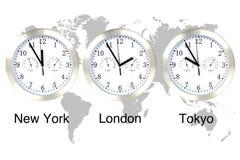 Tempo do mundo. Fotos de Stock Royalty Free