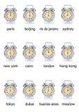 Tempo do mundo Imagem de Stock