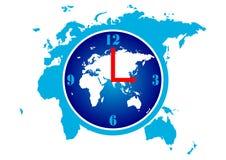 Tempo do mundo ilustração do vetor