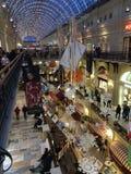 Tempo do Natal da loja da goma fotografia de stock royalty free