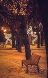 Tempo do Natal em Poprad Imagem de Stock Royalty Free