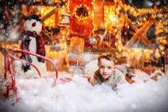 Tempo do Natal do milagre imagem de stock royalty free
