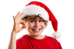 Tempo do Natal - sinal APROVADO Fotos de Stock