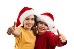 Tempo do Natal - sinal APROVADO Imagens de Stock