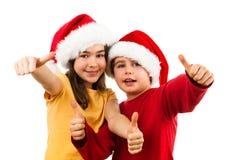 Tempo do Natal - sinal APROVADO Fotografia de Stock