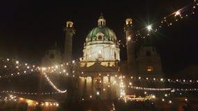 Tempo do Natal, Viena Fotos de Stock