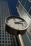 Tempo do negócio de Londres Fotos de Stock Royalty Free