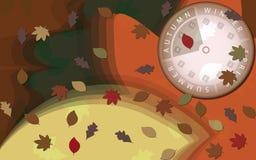 Tempo do outono Imagens de Stock