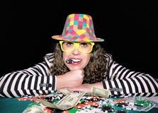 Tempo do póquer Fotos de Stock
