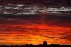 Tempo do por do sol Imagens de Stock Royalty Free