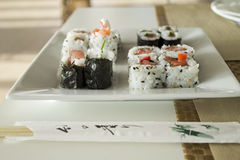 Tempo do sushi Fotografia de Stock Royalty Free