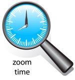 Tempo do zoom ilustração stock